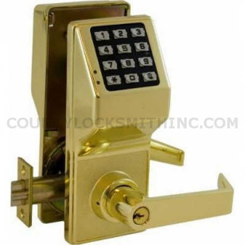 Alarm Lock Trilogy T2 DL2700 US3 Bright Brass Digital lock