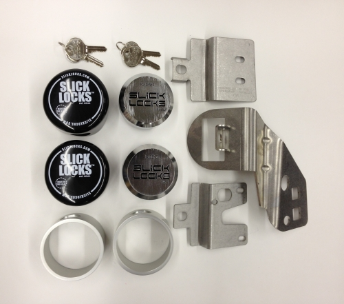 Slick Lock FD FVK SLIDE TK Ford Van E Series Sliding Door Kit