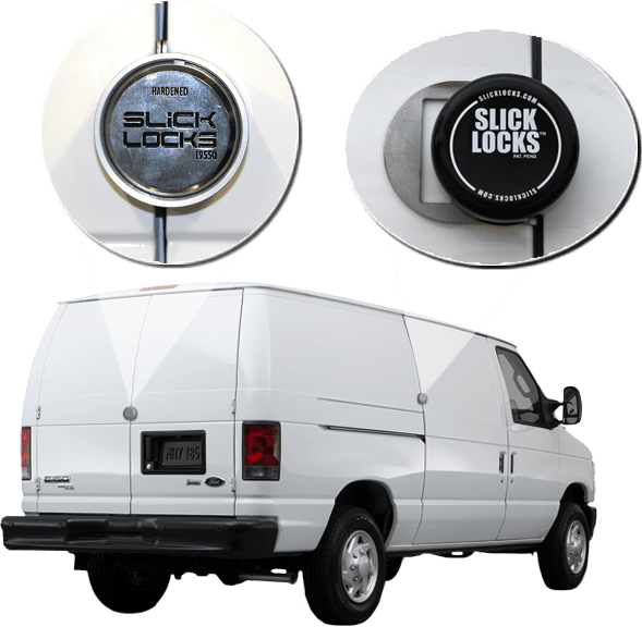 Slick Lock FD FVK SLIDE TK Ford Van E Series Sliding Door