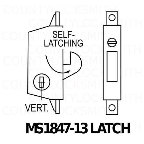 BS1847-13 Deadlatch