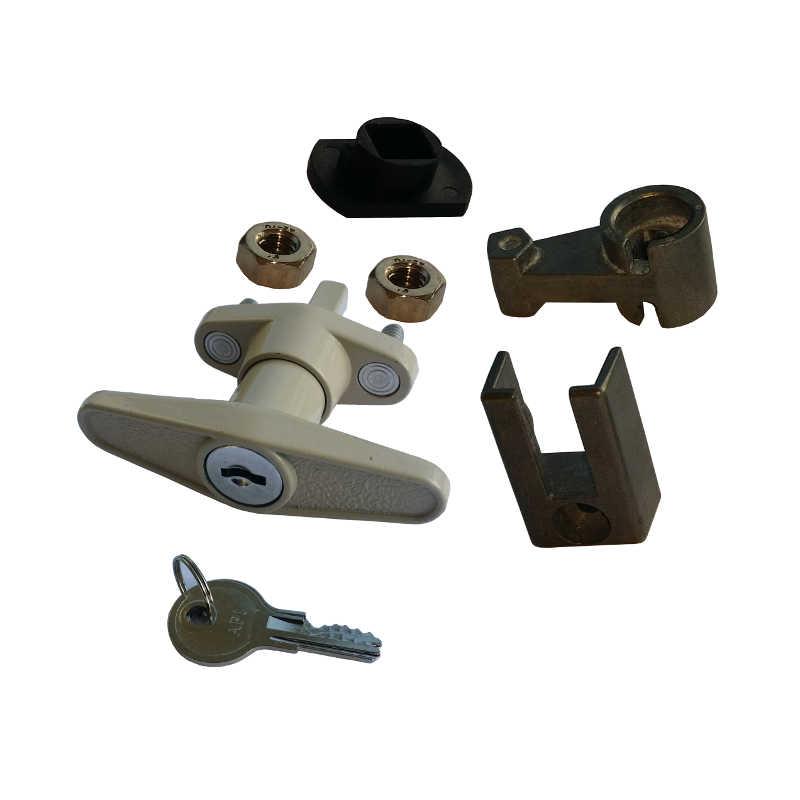T Handle Lock For Accordion Hurricane Shutter