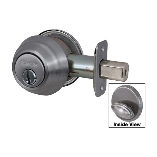 Master Deadbolt Single Cylinder DSH0615-S Satin Nickel