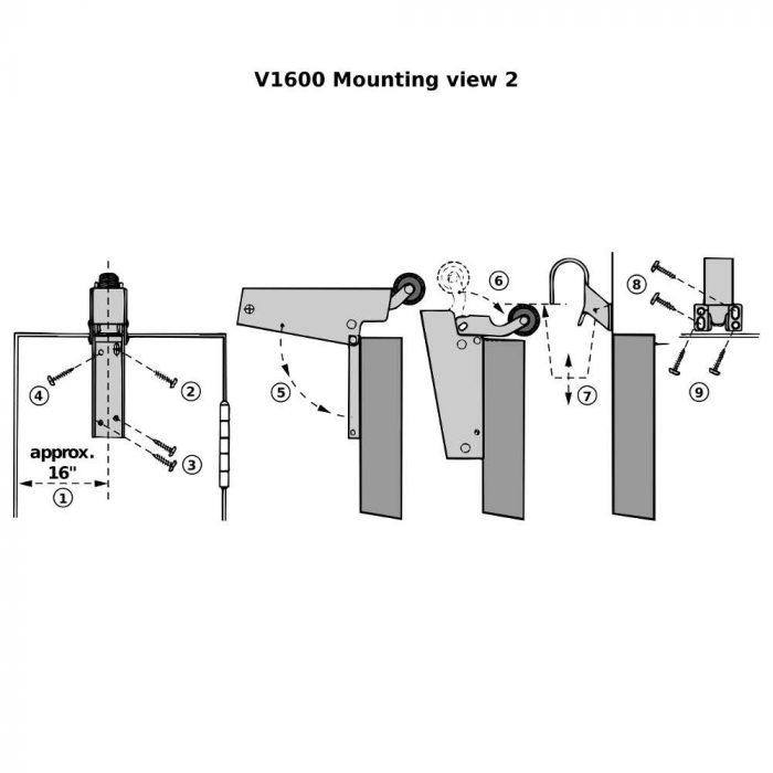 V1600 Mounting 2